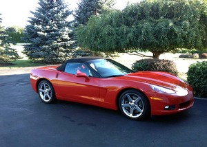 2007 Chevrolet Corvette Convertible - SOLD