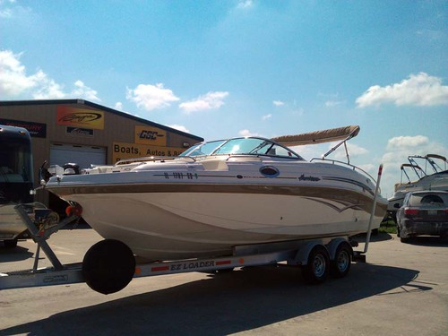 2005 Hurricane SD 257 Sun Deck