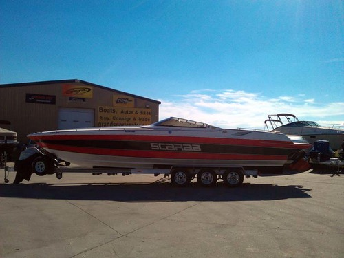1991 Wellcraft 31 Scarab Excel