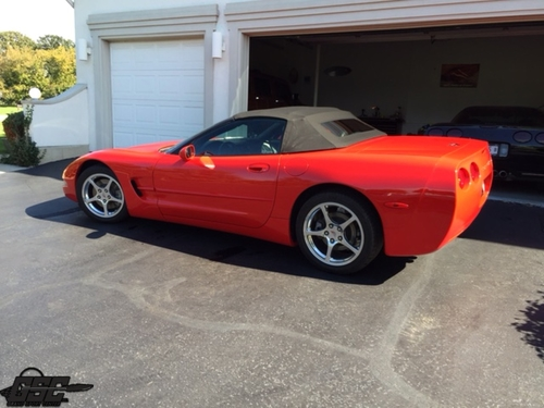 2002 Chevrolet Corvette C5 Convertible