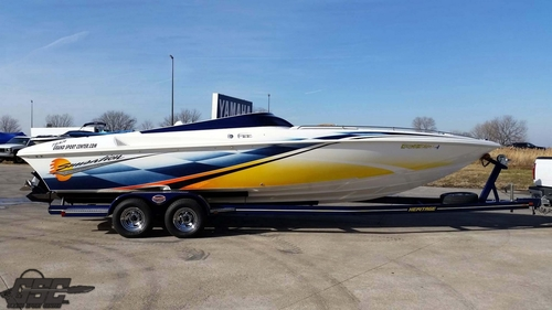 2006 SUNSATION 288 MID CABIN