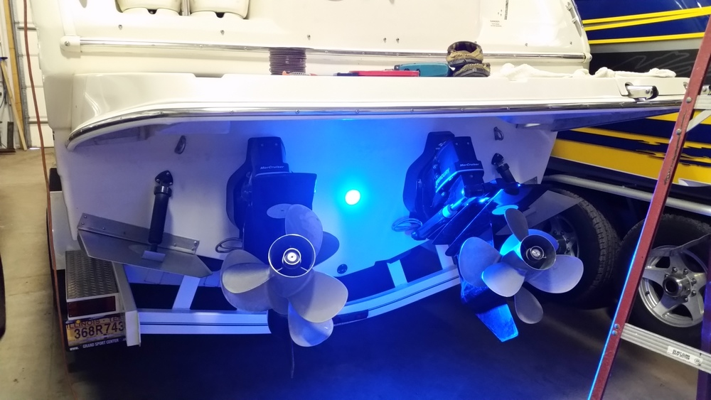 Let GSC install your Under Water Lighting