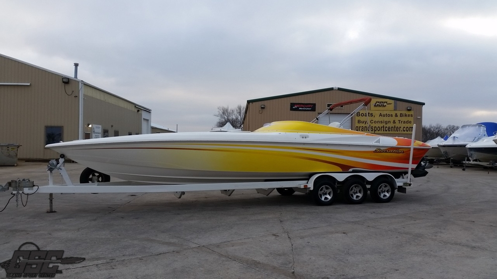 2004 SUNSATION 32 DOMINATOR POKER RUN EDITION