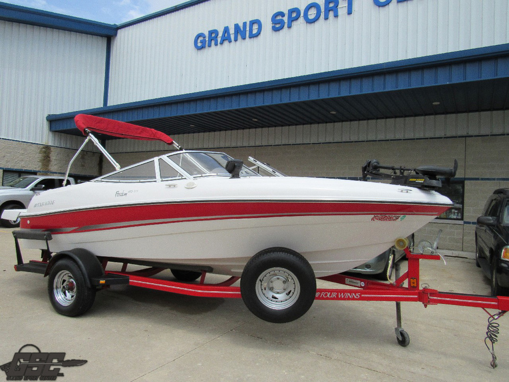 2004 Four Winns Freedom 180 Fish'n'Ski