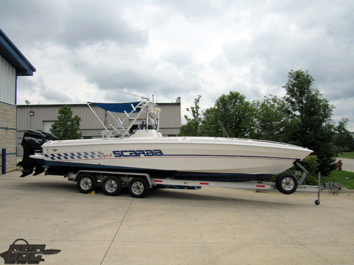 1996 Wellcraft Scarab 302 Sport Center Console