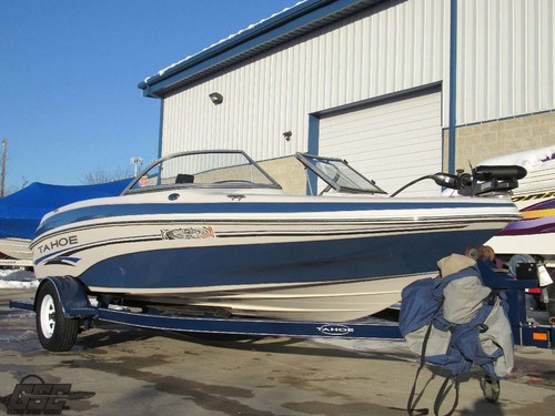 2006 Tahoe Q4 19ft Fish and Ski