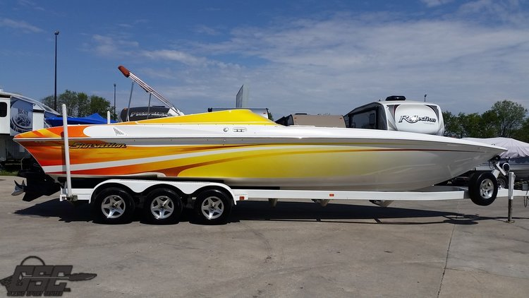 2004 SUNSATION 32 DOMINATOR