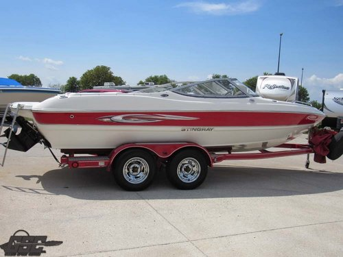 2007 STINGRAY 210 LX OPEN BOW