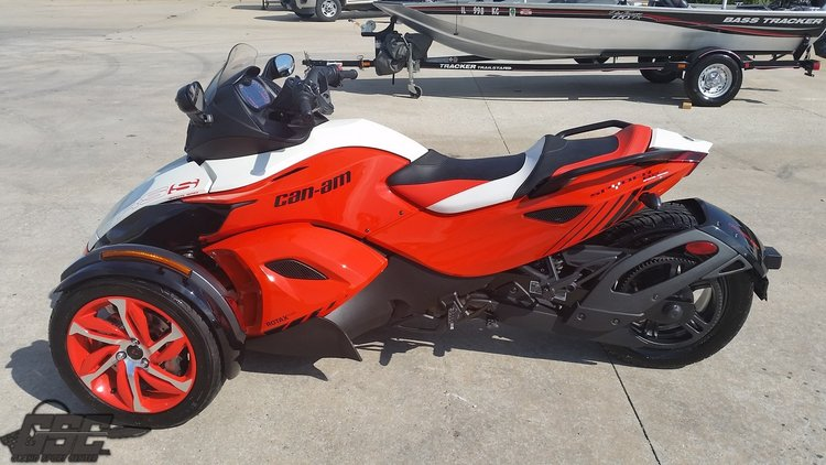 2015 BRP CAN AM RSS SPECIAL SERIES SPIDER
