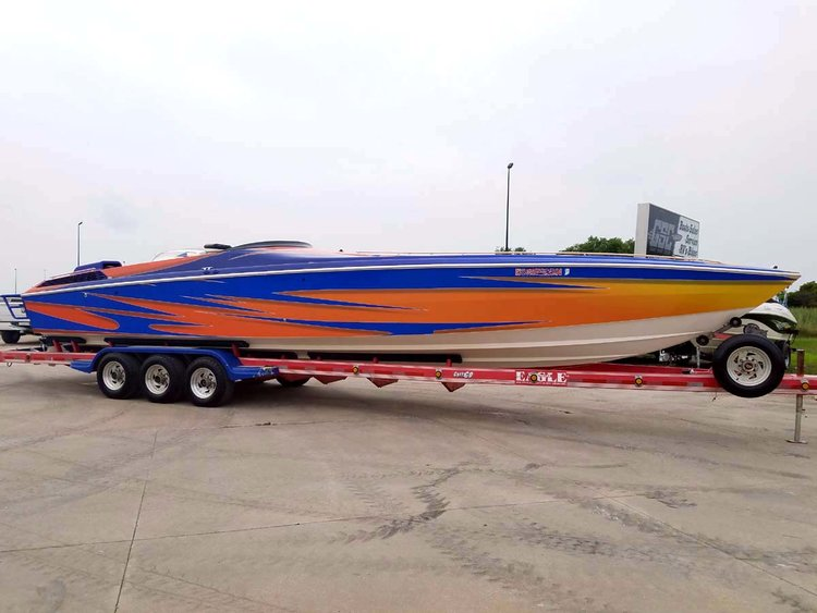 1995 WELLCRAFT 38 SCARAB - POKER RUN EDITION