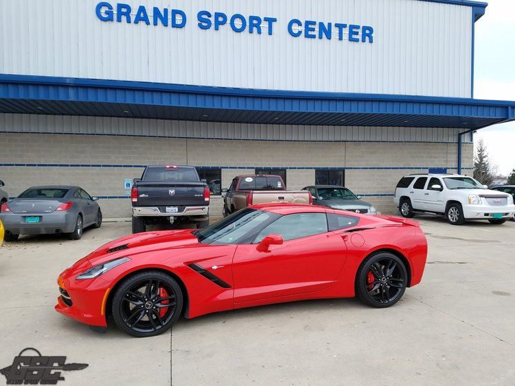 2017 Chevrolet Corvette C7 Stingray Z51 2LT Coupe