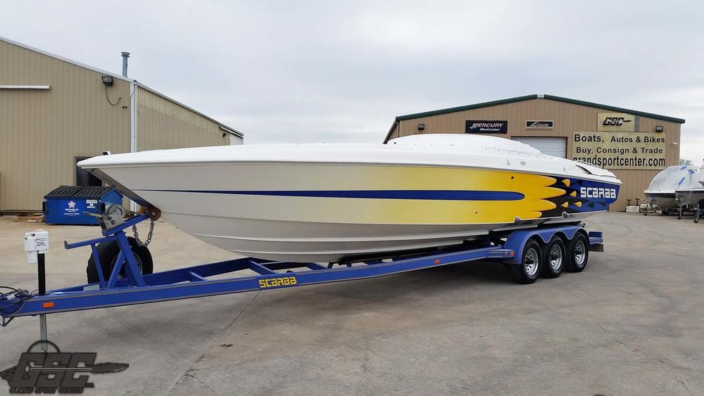 1999 Wellcraft SCARAB 33 AVS