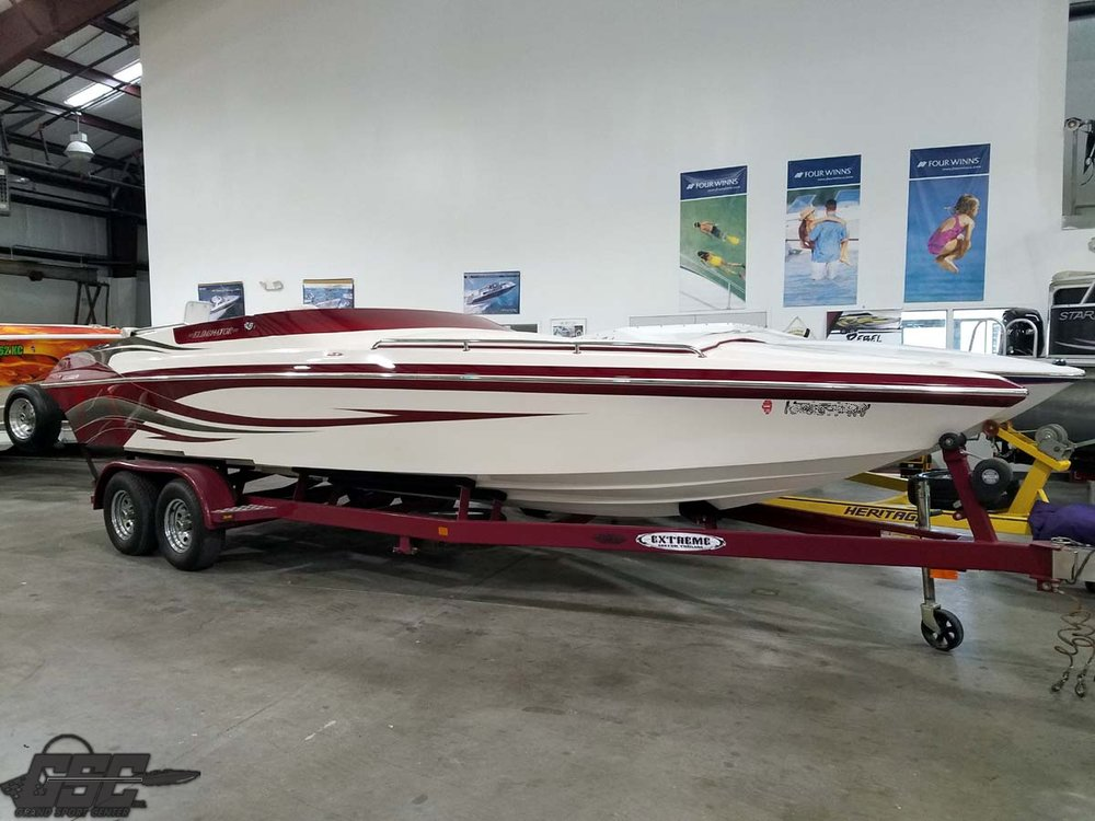 2006 Eliminator 250 Eagle XP Open Bow Midcabin