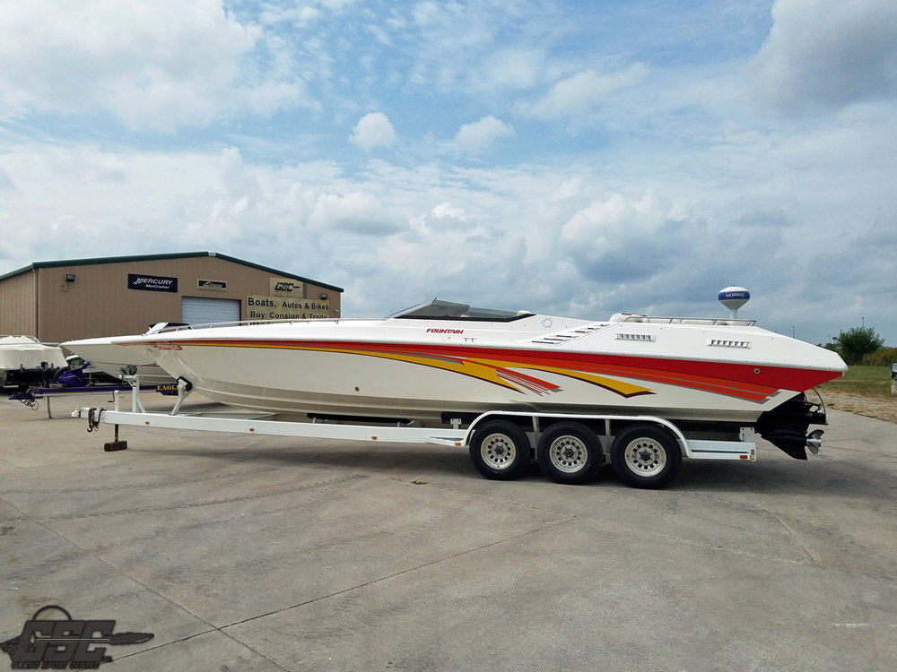 SOLD IN 1 WEEK - 1995 Fountain 35 Lightning