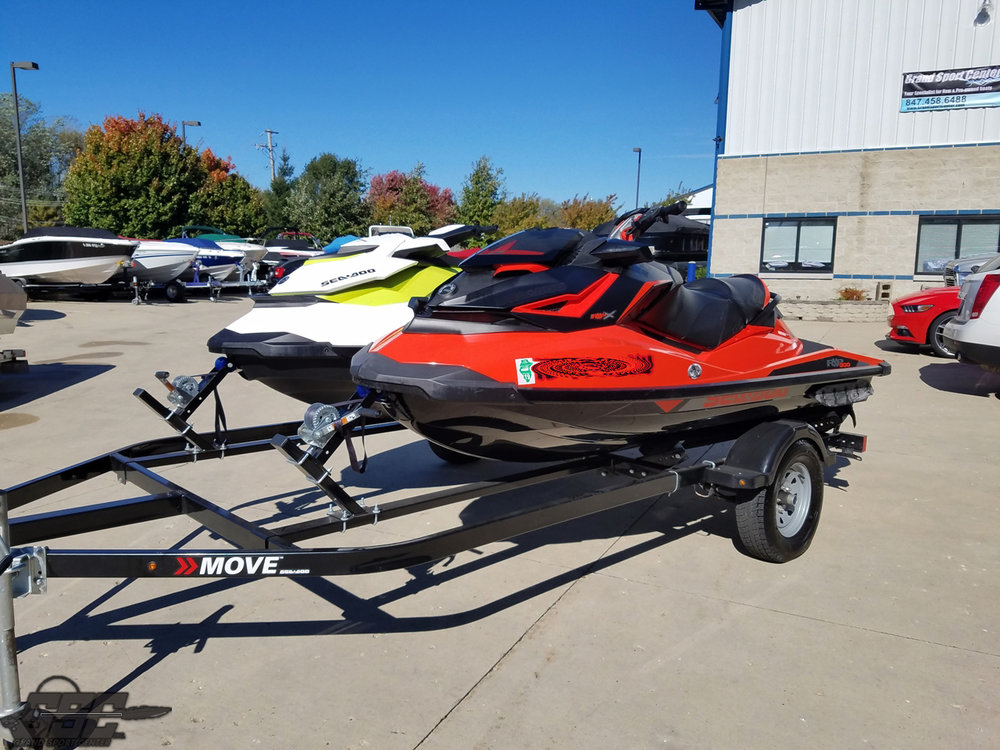 2017 and 2016 Sea Doo Jetski package