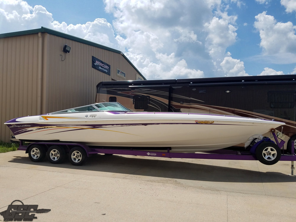 2005 Sunsation 32 Dominator, 496 HO's
