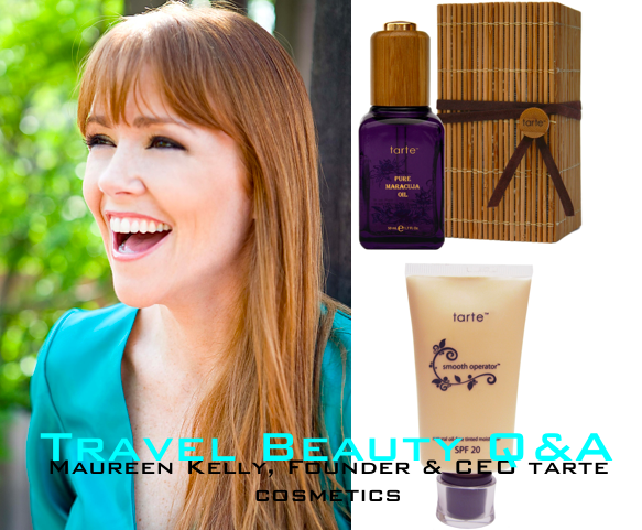 Travel Beauty Q&A With Tarte Cosmetics Founder
