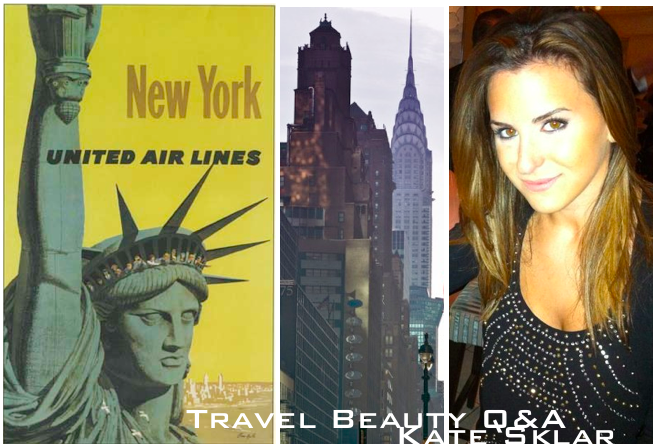 travel beauty picks NYC