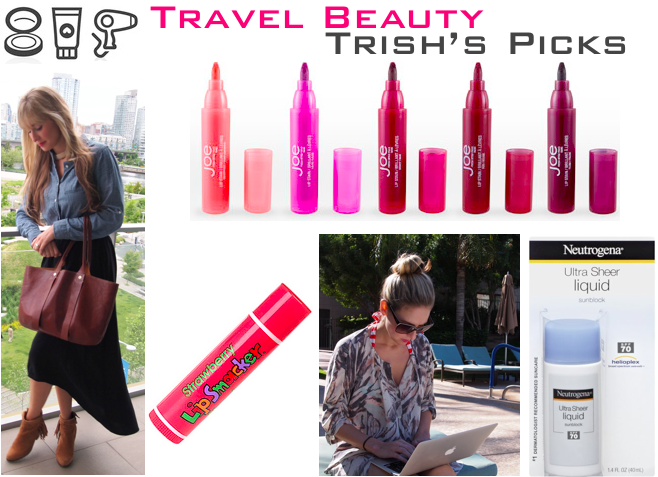 travel beauty + trip styler editor