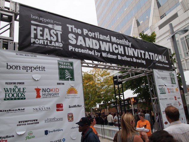 Feast sandwich invitational