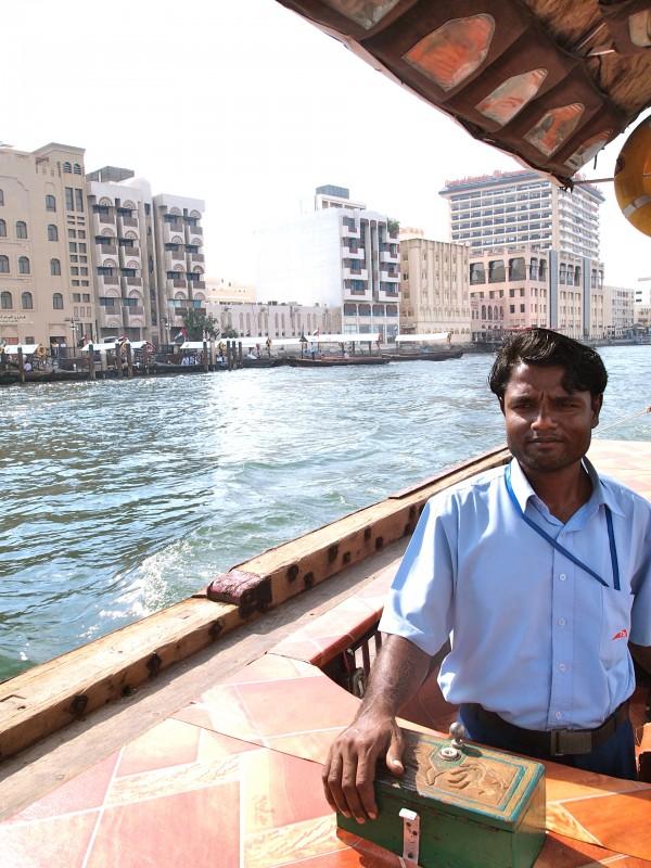 dubai boat driver