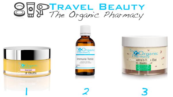 organic travel beauty picks