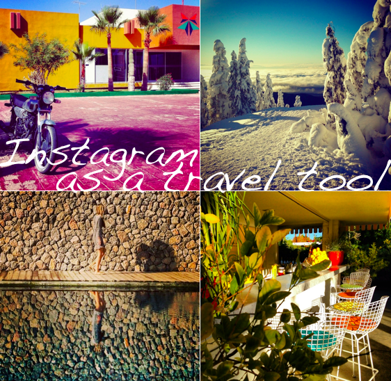 how to use instagram as a travel tool