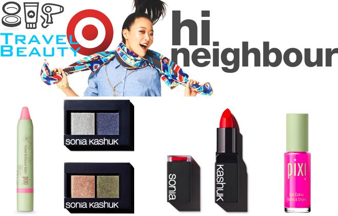 target comes to canada + travel beauty