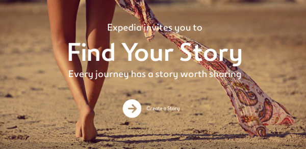 expedia find yours facebook story app
