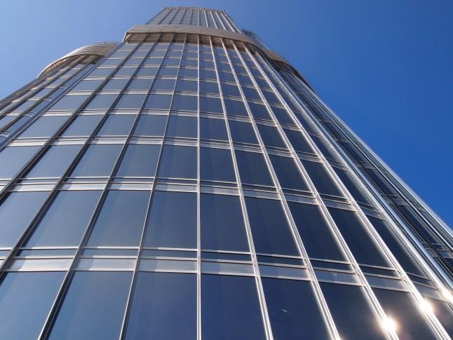 burj khalifa from floor 124