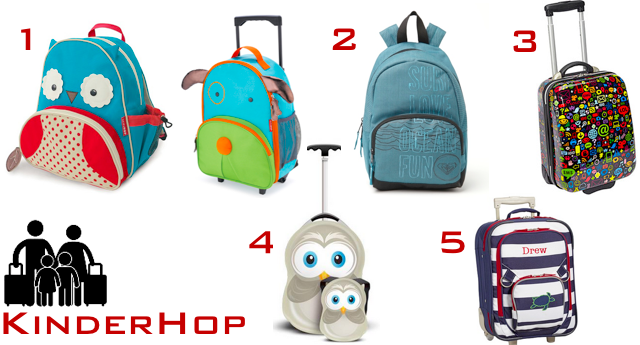 cute kids luggage options