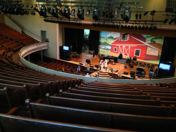 ryman auditorium above