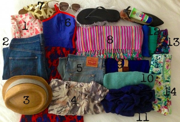 summer 2013 + what to pack