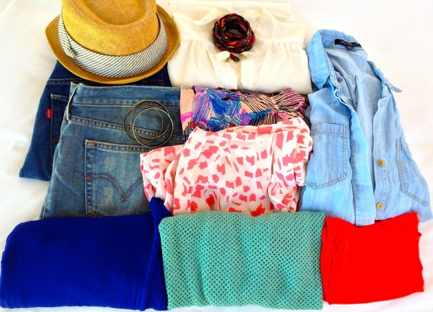 Summer packing + what I packed