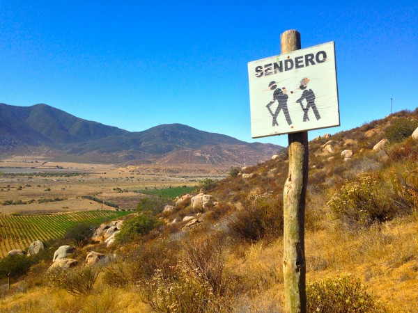 hiking at encuentro mexico
