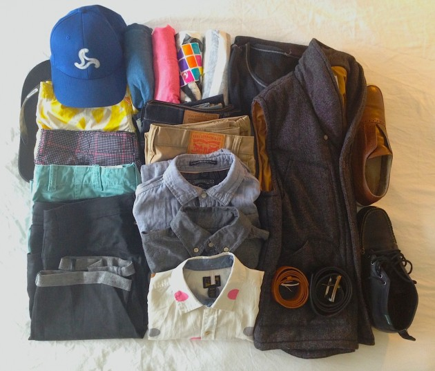 summer packing style + men