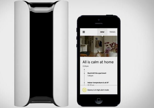 canary home security + travel