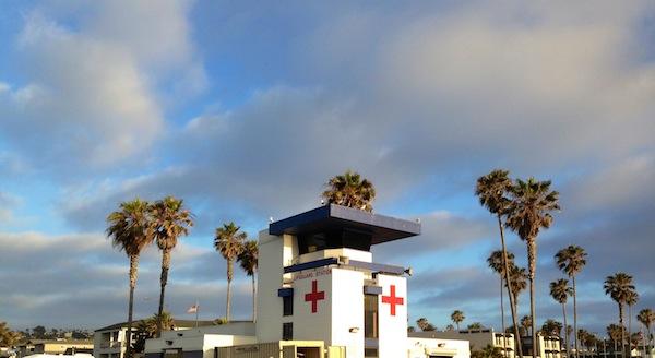 SD lifeguard station