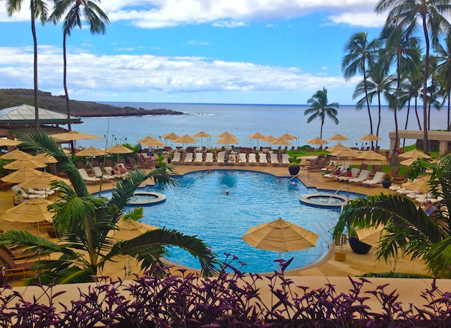 pool four seasons manele bay