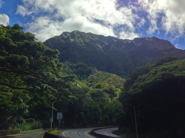 drive to kailua