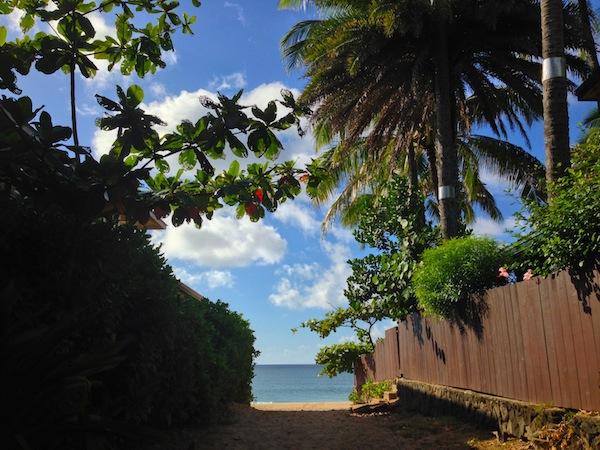 beach path oahu