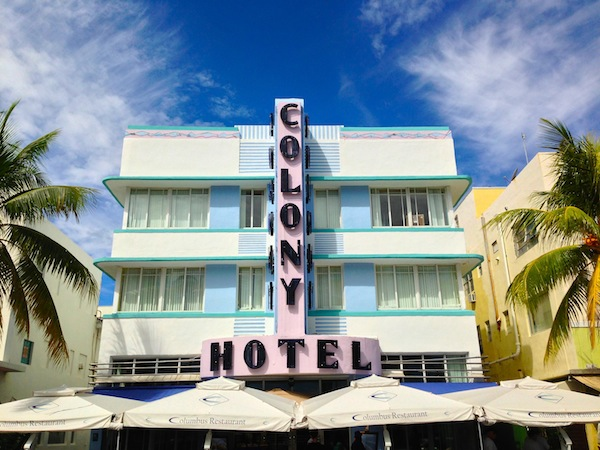colony hotel south beach