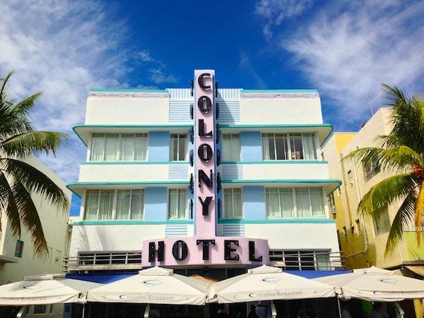 colony hotel south beach