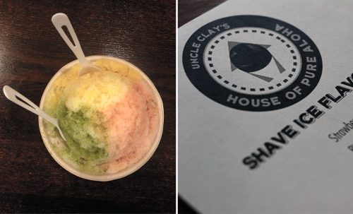 uncle clay's shave ice