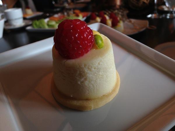 Four Seasons Whistler cheesecake