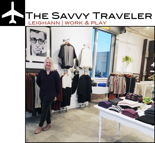 Leighann Boquist Savvy Traveler