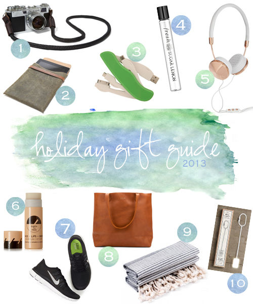 travel holiday gift guide 2013