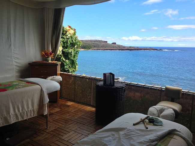 Spa Four Seasons Lanai at Manele Bay