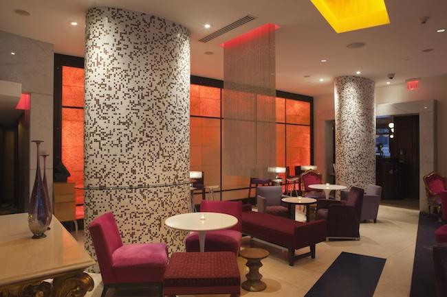 OPUS Bar lobby