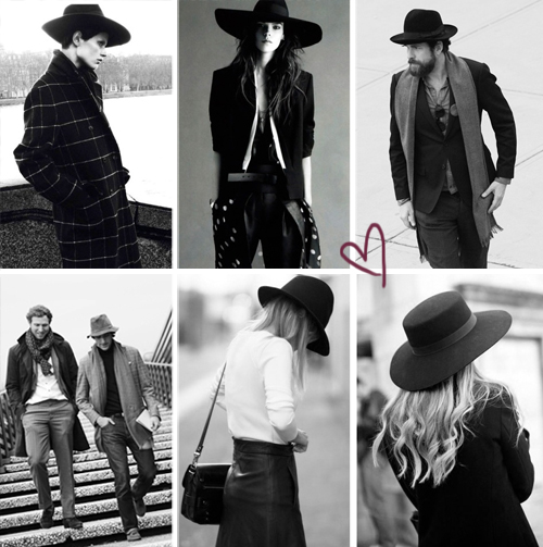 hats street style